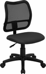 Mid-Back Gray Mesh Swivel Task Chair [WL-A277-GY-GG]