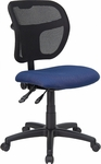 Mid-Back Navy Blue Mesh Swivel Task Chair [WL-A7671SYG-NVY-GG]