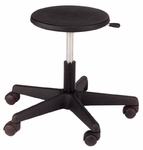 Millennium Series Adjustable Poly Lab/Tech Stool [2180-CSC]