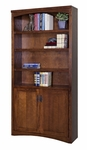 kathy ireland Home™ Mission Pasadena Collection 36''W x 72''H Bookcase with Lower Doors [MP3672D-FS-KIMF]