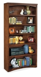 kathy ireland Home™ Mission Pasadena Collection 36''W x 72''H Open Bookcase [MP3672-FS-KIMF]