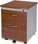 Mobile File Pedestal - Cherry Finish [55106-CHY-FS-MFO]