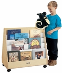 Mobile Pick-A-Book Stand - 2 Sided [3507JC-JON]