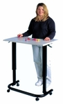 Mobile Therapy Table - 32''W X 24''L X 28.5 - 42.5''H [HAU-6284-FS-HAUS]