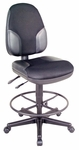 Monarch High Back Height Adjustable Chair - Black [CH555-95DH-FS-ALV]