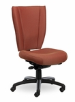 Monterey II 400 Series High Back Multiple Shift Adjustable Swivel and Seat Height Task Chair [MO310-Q30-FS-SEA]