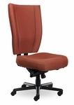 Monterey II 550 Series High Back Multiple Shift Multi Lock Swivel Tilt Task Chair with 550 lb Weight Capacity [MO510-Q51-FS-SEA]