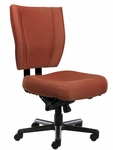 Monterey II 550 Series Medium Back Multiple Shift Multi Lock Swivel Tilt Task Chair with 550 lb Weight Capacity [MO511-Q51-FS-SEA]