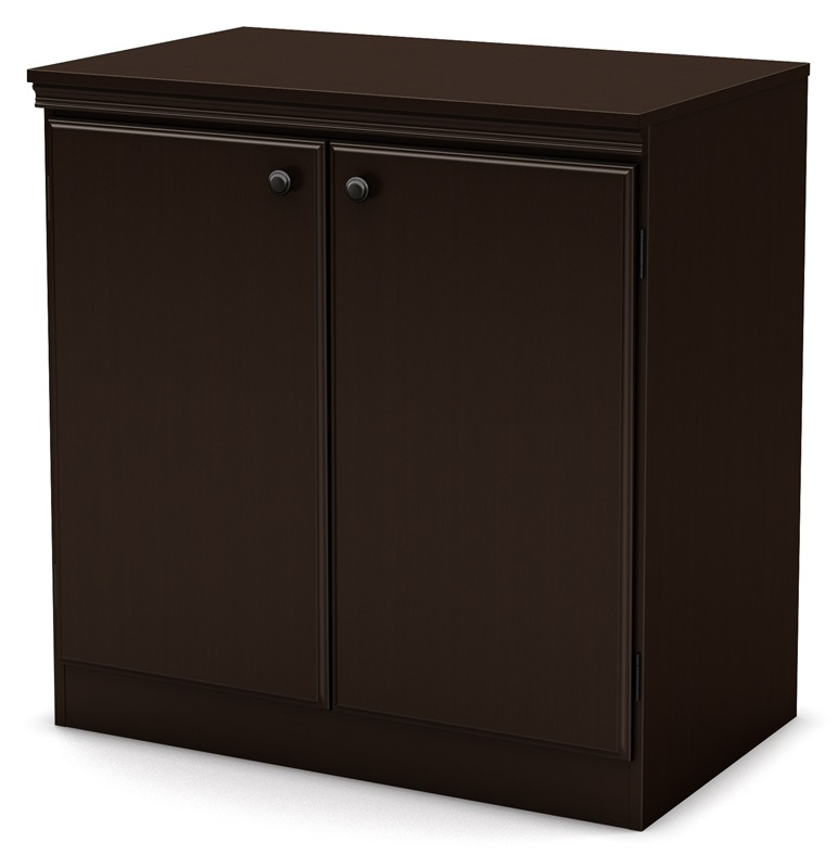 Morgan Collection 32 39 39 H Storage Cabinet Chocolate 7259722