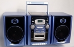 MPC Deluxe CD AM/FM Cassette Stereo System w/ Remote [CD-563-FS-BUHL]