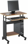 Muv™ 29.5'' Adjustable Height Workstation - Cherry [1925CY-FS-SAF]