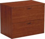 OSP Furniture Napa Lateral File - Cherry [NAP-12-CHY-FS-OS]