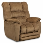 Napa Transitional Style Polyester Power Recliner - Temptation Fawn [189560-6450-PWR-FS-CHEL]