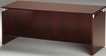 Napoli 63'' W x 24'' D x 29.5'' H Credenza - Sierra Cherry on Cherry Veneer [NCNZ63CRY-FS-MAY]