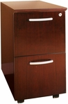 Napoli and Corsica Mobile File File Pedestal - Sierra Cherry on Cherry Veneer [VFFCRY-FS-MAY]