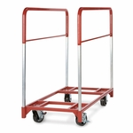 Steel Frame Narrow Round Folding Table Mover - 24''W x 48''D [3771-RPC]