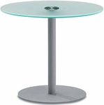 Net 29.5'' H Large Glass Table [NGT-1-MFO]