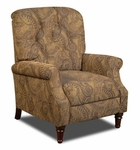 New Hampshire Traditional Style Polyester Recliner - Isle Tobacco [182650-6370-FS-CHEL]