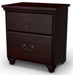 Noble Collection Night Stand Dark Mahogany [3516060-FS-SS]