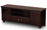 Noble Collection TV Stand in Dark Mahogany [4316677-FS-SS]