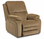Oakdale Transitional Style Polyester Power Recliner - Gazette Thistle [189570-7981-PWR-FS-CHEL]