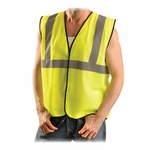Occunomix Class II Safety Vest - S/M [OCCECOGYSM-FS-SP]