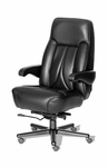 Odyssey High Back Office Chair with Dual Lumbar Support - Fabric [OF-ODYS1PC-F-FS-ARE]