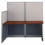 Office In An Hour™ Straight Workstation with Panels [WC36492-03K-FS-BBF]