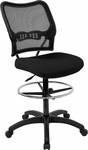 Office Star Air Grid Back & Mesh Seat Drafting Chair with Built-In Lumbar Support [13-37N20D-FS-OS]
