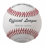 Official League Baseball with Double Cushioned Cork Core - Set of 12 [OLB10-FS-CHS]