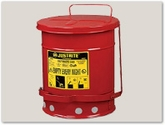 Oil Waste Cans and Pads