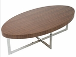 Oliver Coffee Table in Walnut [28041A-28041B-FS-ERS]
