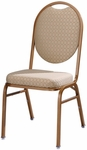 Omega I Banquet Stack Chair with Oval Back [567-MTS]