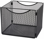 Onyx™ 12.5'' W x 11'' D x 10'' H Mesh Desktop Box File - Set of Six - Black [2170BL-FS-SAF]