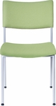 Open End Upholstered Back and Seat Stack Chair [OE12020-FS-DV]