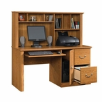 Orchard Hills 58.75''W Computer Desk with Hutch - Carolina Oak [401354-FS-SRTA]