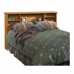 Orchard Hills Bookcase Headboard - Full/Queen - Carolina Oak [401294-FS-SRTA]