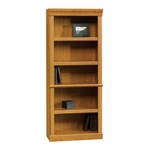 Orchard Hills 71.5''H Library with Adjustable Shelves - Carolina Oak [402172-FS-SRTA]