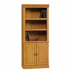 Orchard Hills 71.5''H Library with Double Doors - Carolina Oak [402173-FS-SRTA]