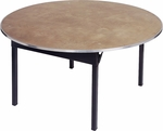 Original Series 30'' Round Banquet Table with Plywood Top [DPORIG30RD-MFC]