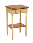OSP Designs Country Cottage Telephone Table with Drawer and Storage Shelf [CC04-FS-OS]