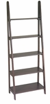 OSP Designs Ladder Bookcase with 5 Shelves - Espresso [ES21-FS-OS]