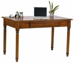OSP Designs Knob Hill Computer Desk with Pull Out Keyboard Tray - Cherry [KH25-FS-OS]