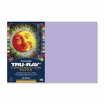 Pacon Construction Paper -76 lb. -12'' x 18'' -50/PK -Lilac [PAC103050-FS-SP]