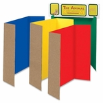 Pacon Single Walled Presentation Board -48'' x 36'' -4/ST -Assorted [PAC37654-FS-SP]