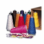 Pacon Yarn Cones - Double Weight Cones - 12/Box - Assorted [PAC00590-FS-SP]