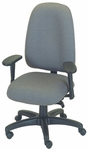 Palisades 24'' W x 22'' D x 39.5'' H Adjustable Height and Width High-Back Chair with Deluxe Control [E-50182-FS-EOF]
