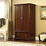 Palladia 66.625''H Clothing Armoire - Select Cherry [411843-FS-SRTA]