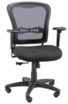 Paragon Mesh Back Height Adjustable Manager's Chair - Black [CH760-FS-ALV]