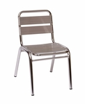 Parma Outdoor Stacking Aluminum Side Chair [MS0025-BFMS]